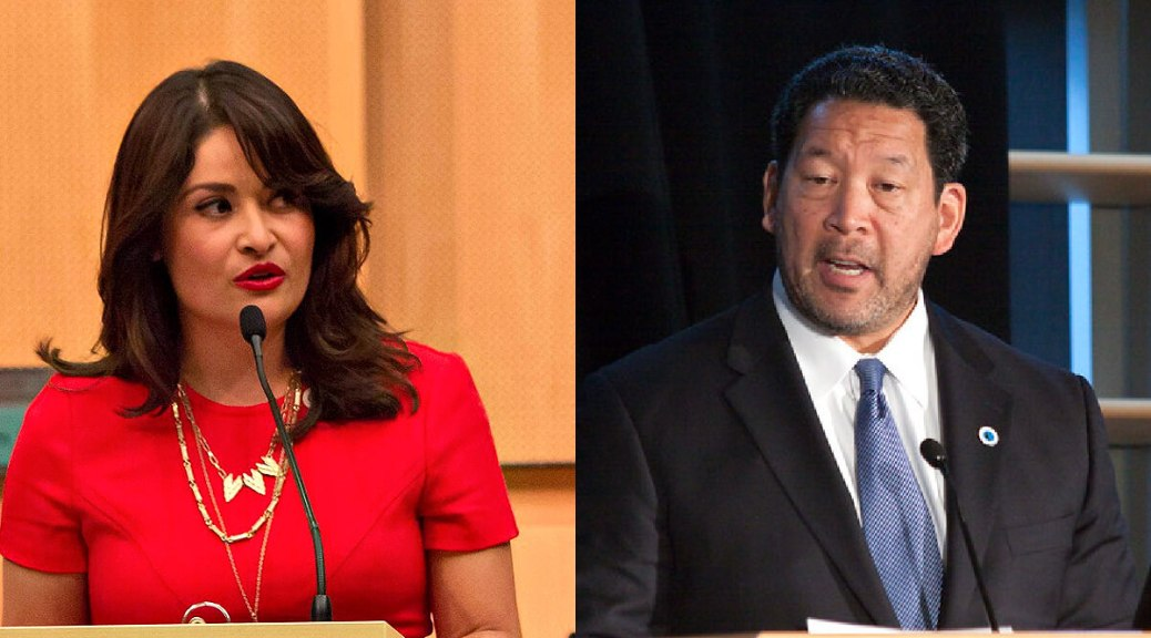 Featured Image: Collage featuring Lorena González (Photo: City of Seattle) and Bruce Harrell (Photo: Kevin Schofield/Creative Commons)