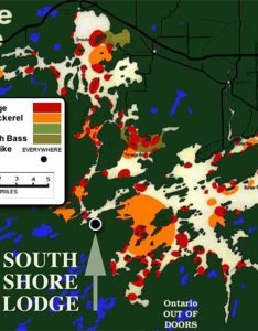 About the fishing map also eagle lake south shore lodge rh southshorelodge