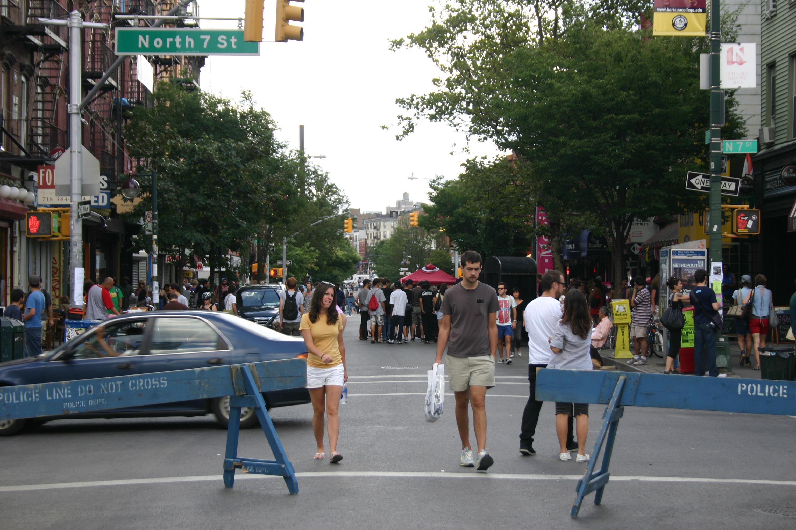 Viva la pedestrian!