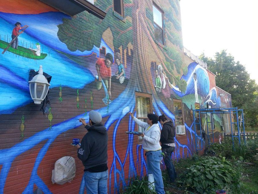 Public art and artists along Cedar Avenue