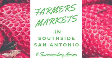 Farmers Markets in Southside San Antonio