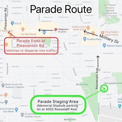 Harlandale ISD Parade 2020 - Live From The Southside (3)