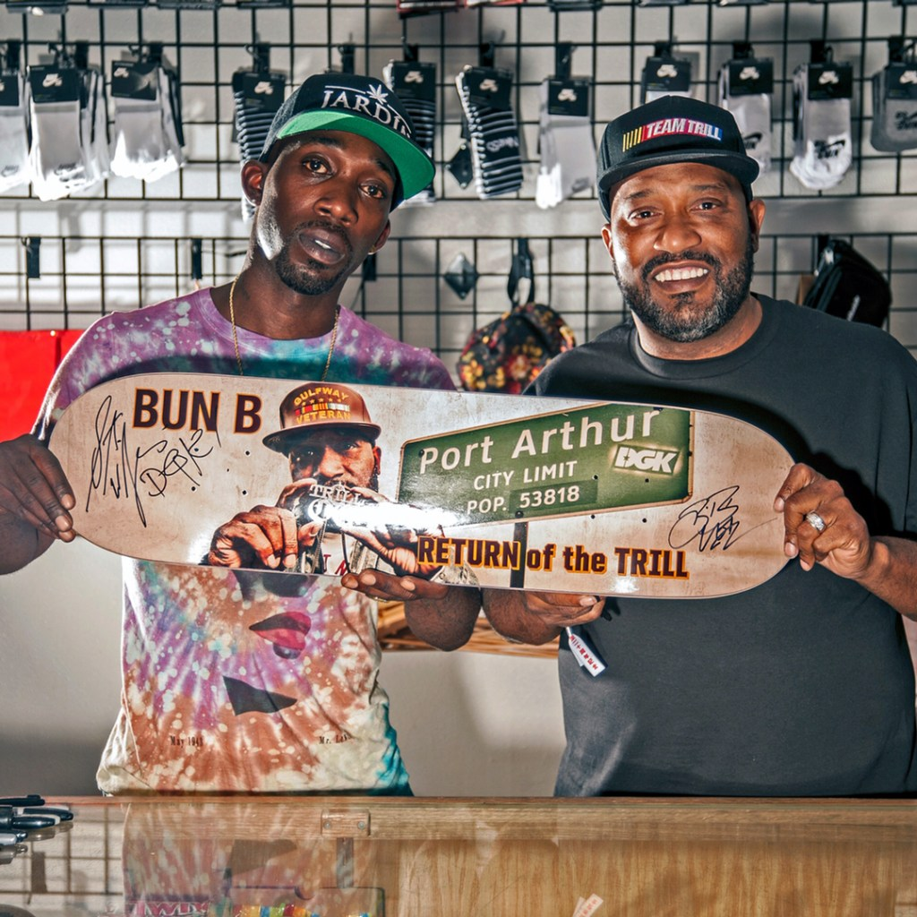 Stevie Williams of DGk and Bun B Holding RETURN of the TRILL