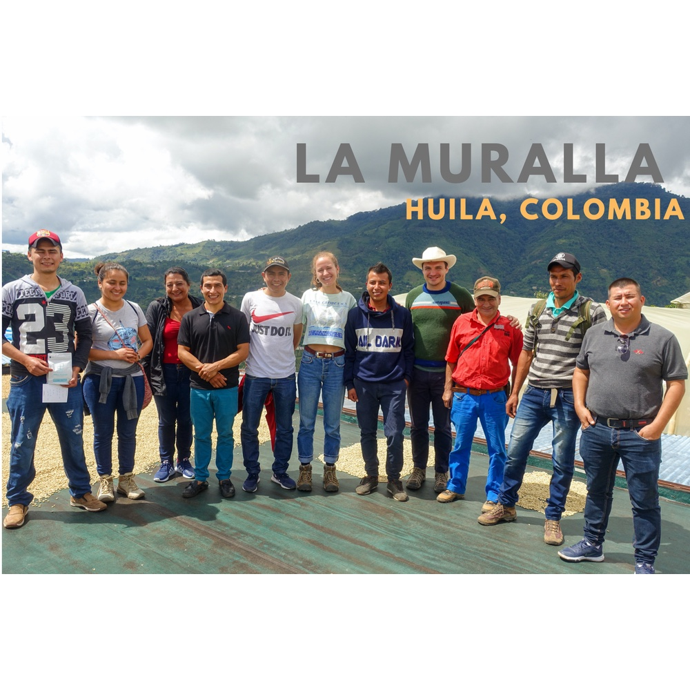 Photo of farmers group called la muralla from san agustin huila colombia