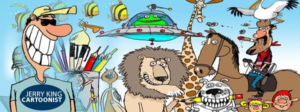 Jerry King Cartoons Facebook