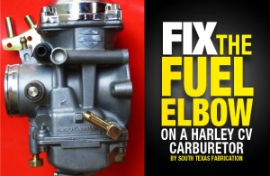 Fix The Fuel Elbow on a Harley CV Carb