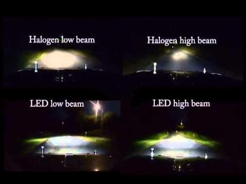 Halogen Light Vs Led >> Led Vs Halogen Lights South Texas Biker Magazine