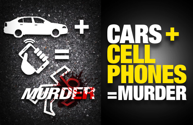 Cars + Cell Phone=Murder