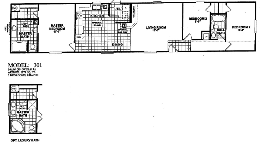 floorplans photos oak creek manufactured homes