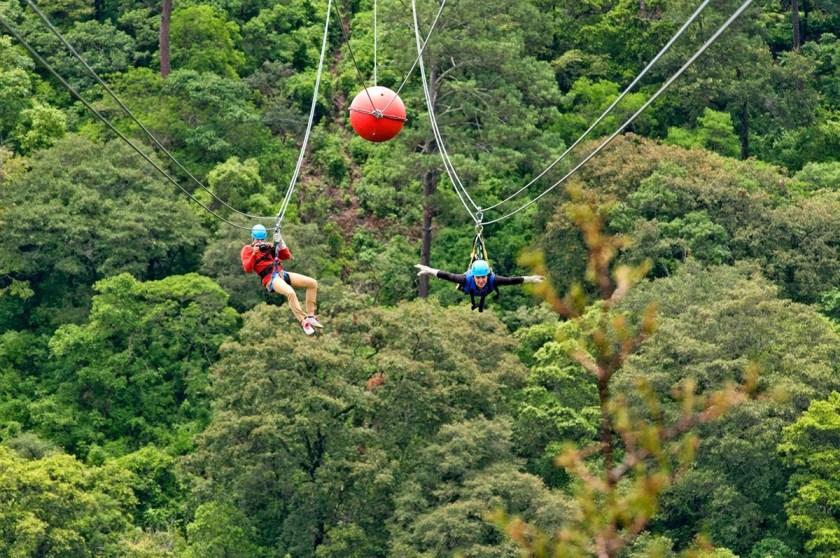 Antigua Outdooraktivitäten Canopy