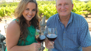 CENTURY-OLD VINES Dry-farmed, hand-pruned and maintained by hand, Besson Vineyards have been in the family for five generations.