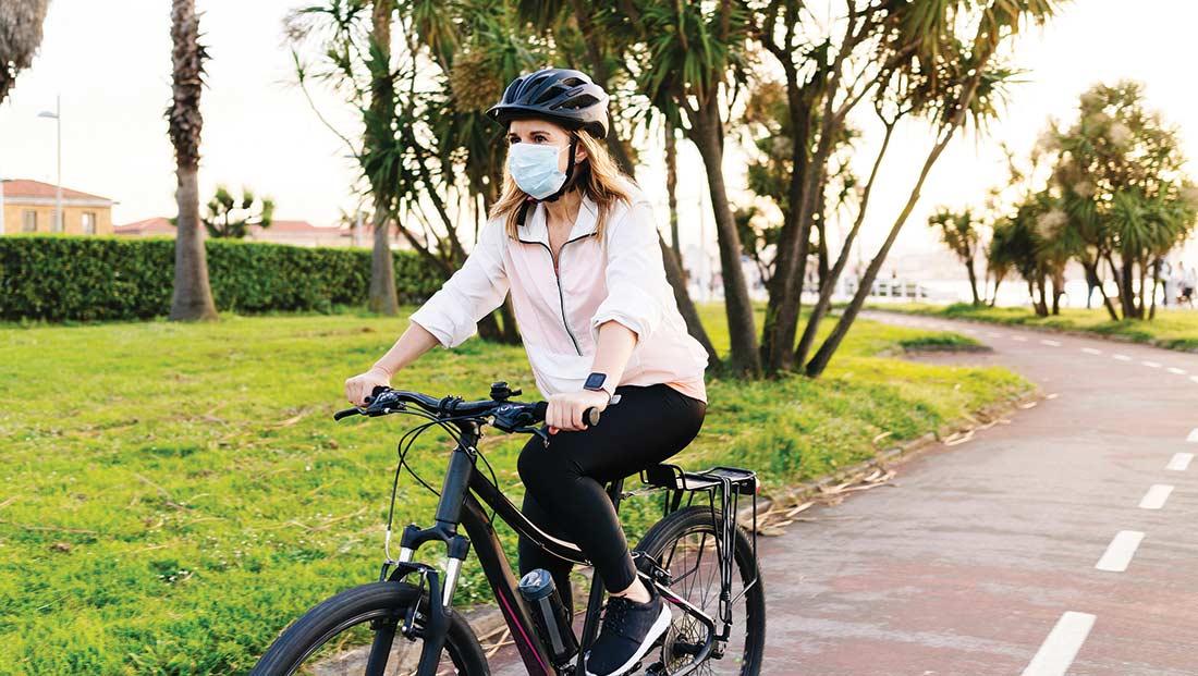 pandemic biking