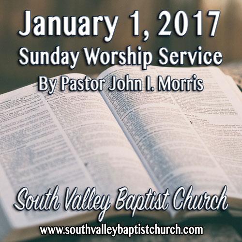 Sermon Jan 1 2017