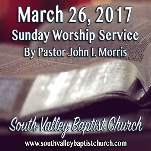 Sermon March 26 2017