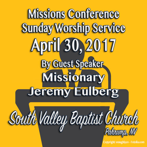 Missions Conference April 30 2017