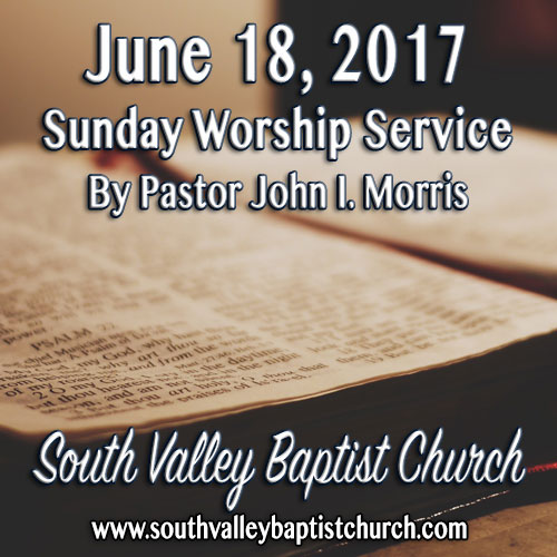 Sermon June 18 2017