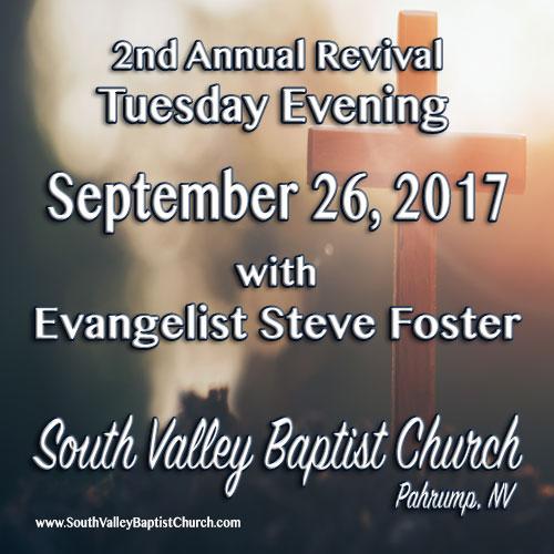 Revival September 26 2017