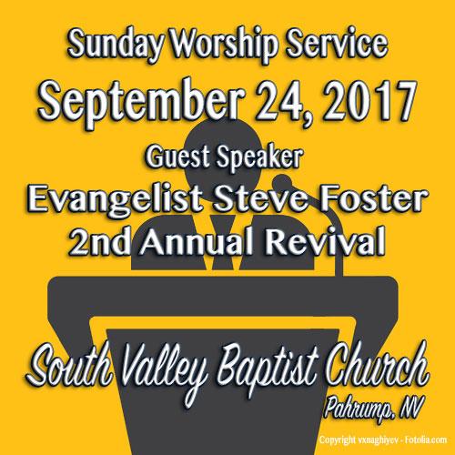 Sermon September 24 2017