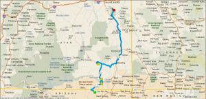 Gereden: 340 km.
