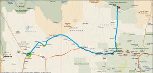 Gereden 315 km.