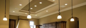 Six New Recessed Lights with a Dimmer Switch Installed
