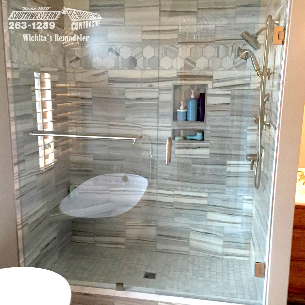 Bathroom Bathroom Remodeling Southwestern Remodeling Wichita