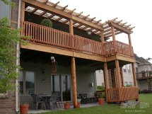 House Plans with Second Story Deck