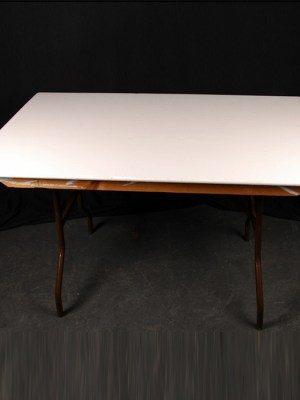 "Trestle Table 4' x 2' 6"" ( Seats 4 )"