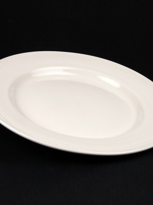 DINNER PLATE WHITE CROCKERY HIRE