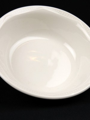 ROUND BOWL White Crockery Hire