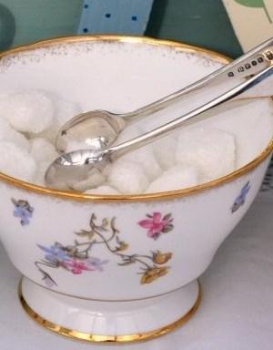 Vintage China Sugar Bowl