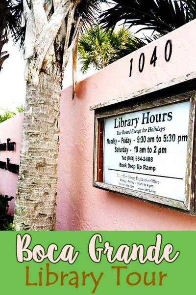 Boca Grande Library Tour