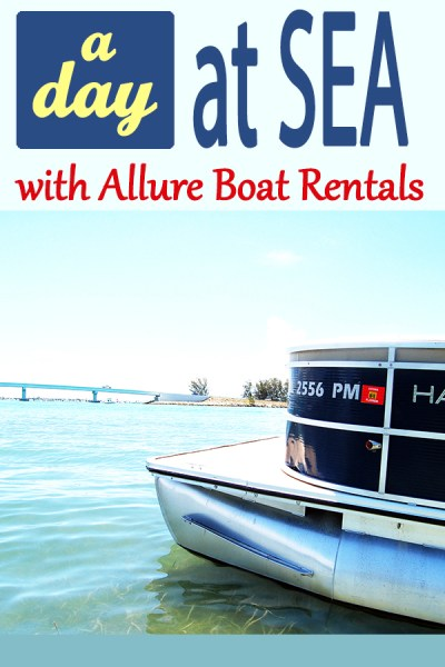 A day at sea with Allure Boat Rental in Englewood