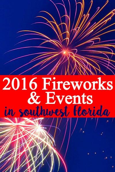 2016 Fireworks & Events in Southwest Florida