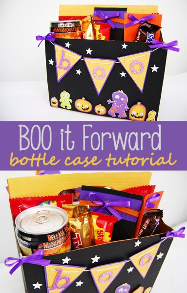 BOO It Forward Kit bottle case tutorial
