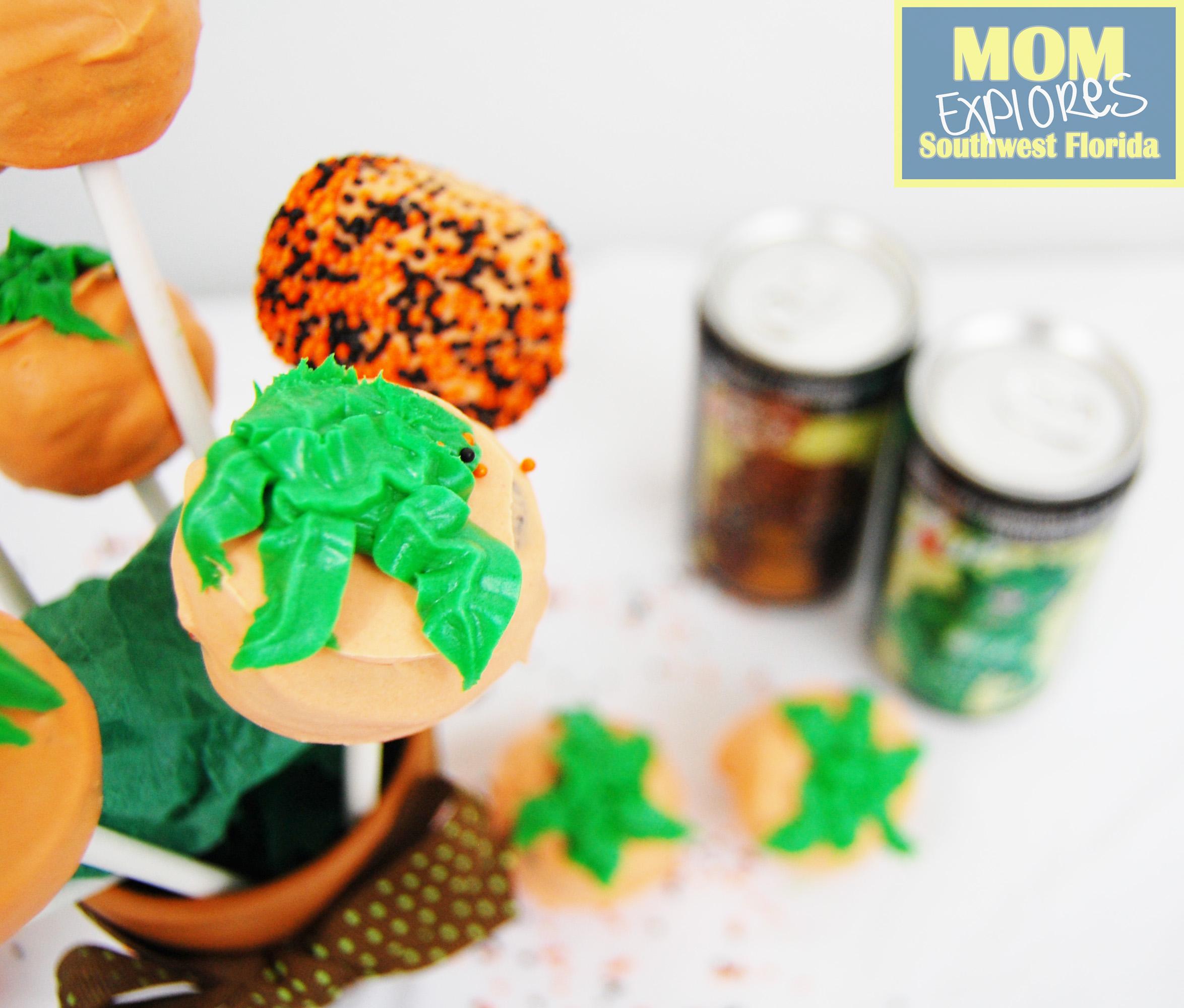 Root Beer Flavored Pumpkin Cake Pops Mom Explores