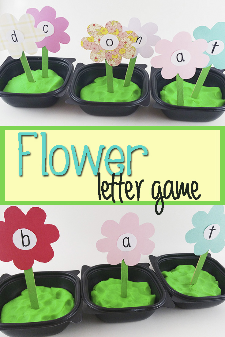 Flower Letter Game Mom Explores Southwest Florida