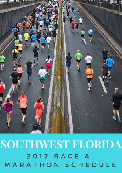 Marathon and Race Schedules in southwest Florida