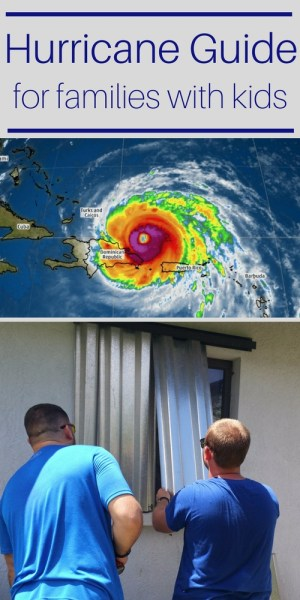 Hurricane Guide for families with children