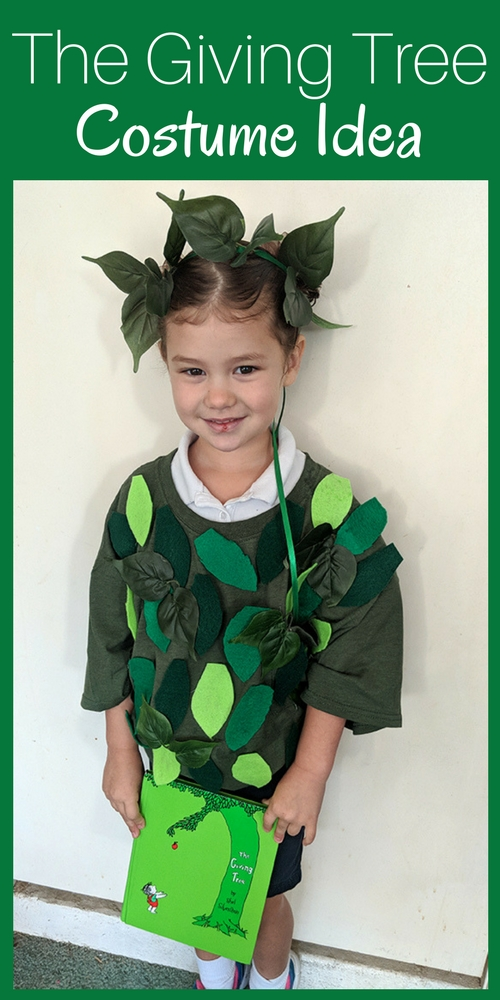So she wanted to dress up like a tree because the tree is her favorite character in u201cThe Giving Tree.u201d This is how we did it  sc 1 st  Mom Explores Southwest Florida & The Giving Tree Costume Idea | Mom Explores Southwest Florida