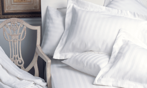 Striped Pillow Cases & Linens