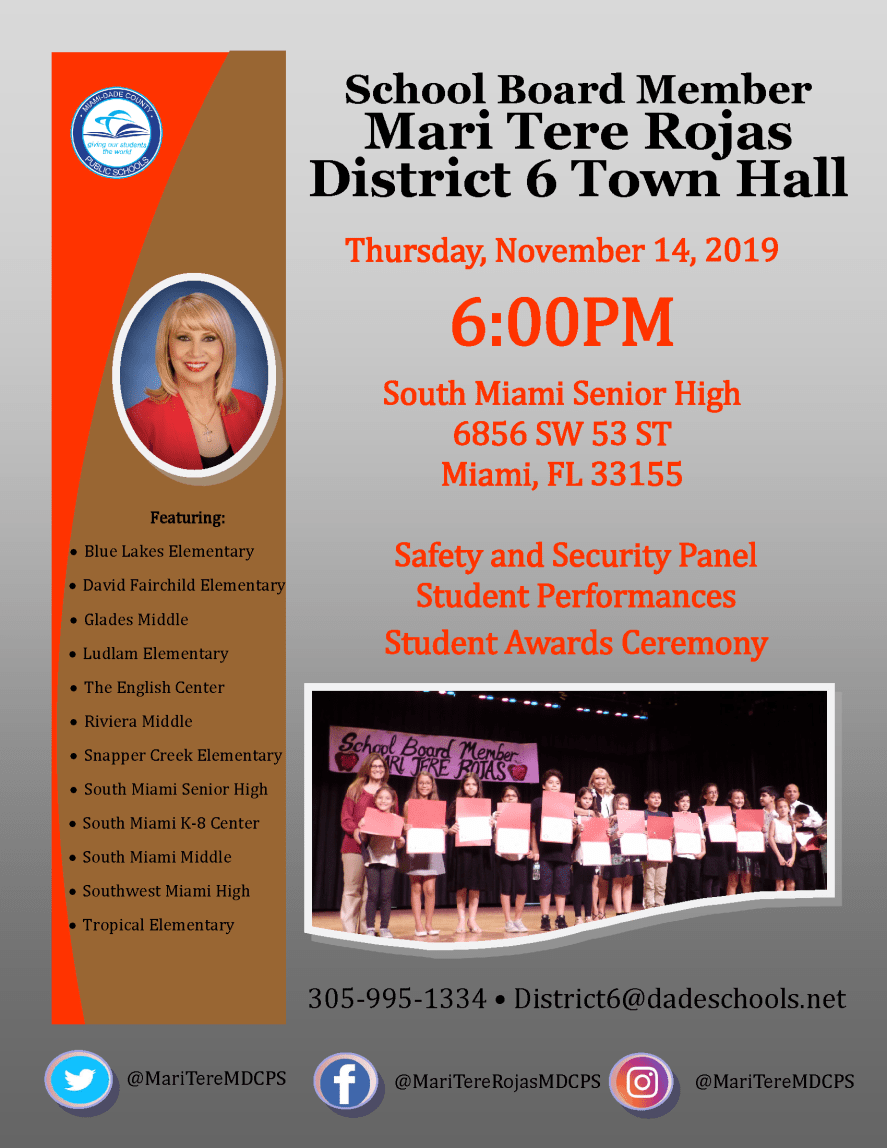 District 6 Town Hall