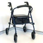 Adjustable Folding Four Wheel Walker