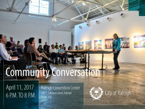 Community Conversation @ Raleigh Convention Center | Raleigh | North Carolina | United States
