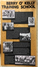 School history on display at the Method Community Center