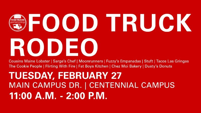 Centennial Campus Food Truck Rodeo