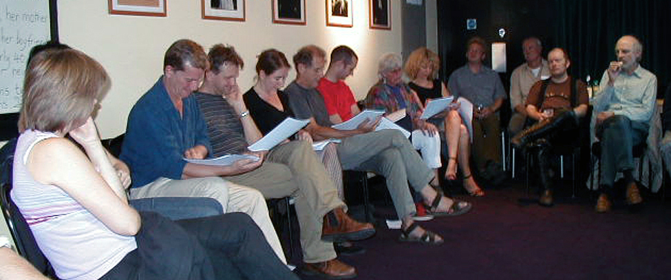 Southwest Scriptwriters meeting, Mcready Room, Bristol Old Vic, 29 June 2004