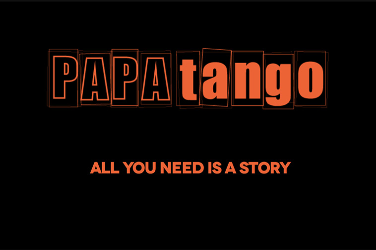 Papatango Theatre Company logo