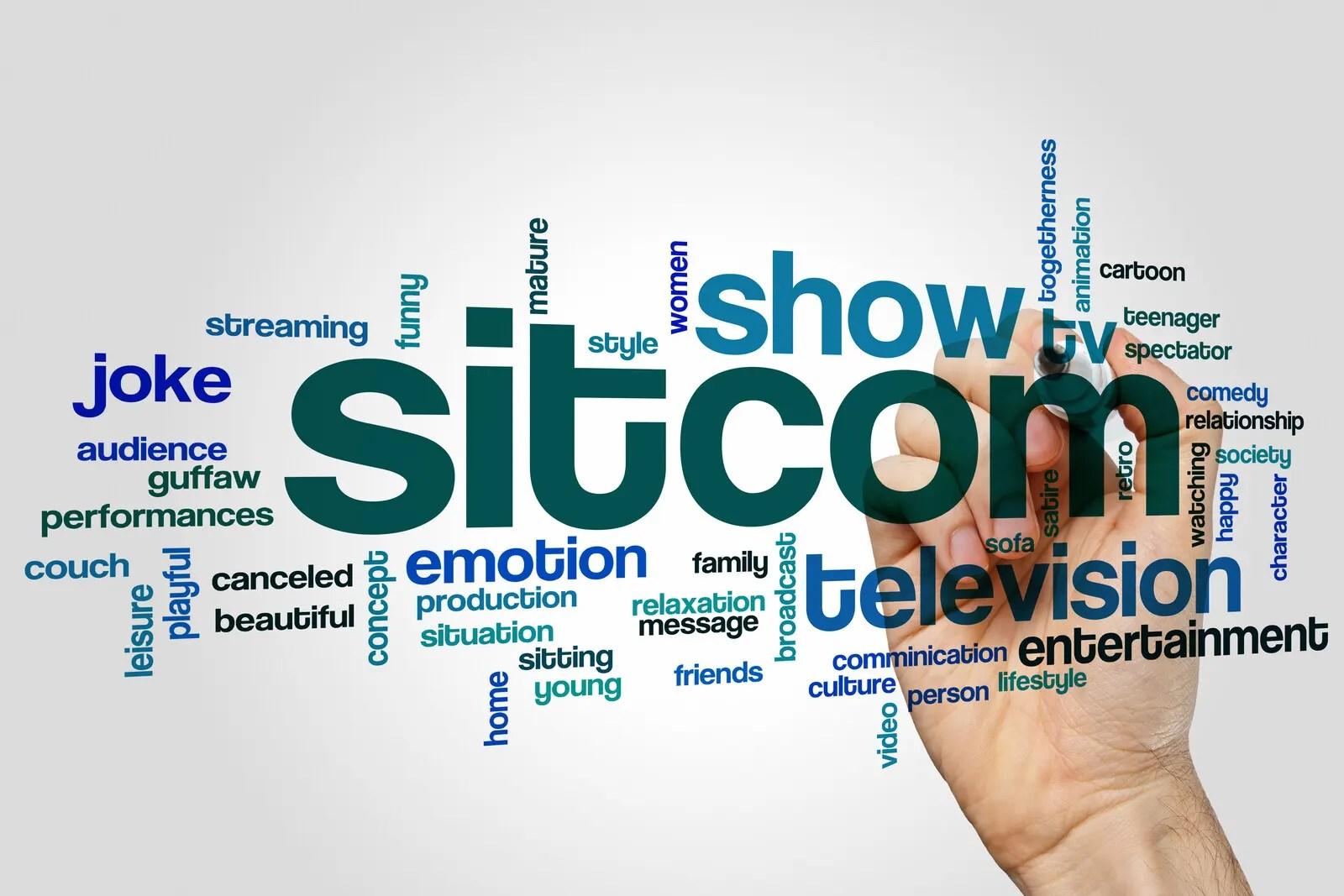 Sitcom tag cloud