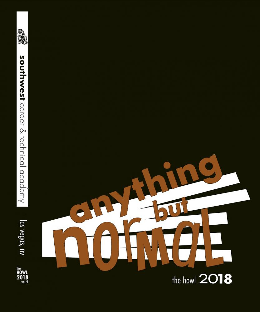 ... Yearbook To Be Distributed Next Month Howl Yearbook Cover Anything But  Normal Yearbook To Be Distributed Next Month Yearbook Editor Cover Letter  Brand